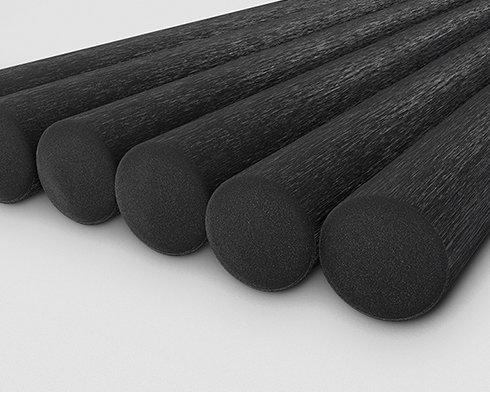 3D Visualisierung für medi – die Fasern sind auf Makroebene gerendert