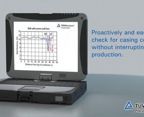 Visualisierung eines Toughbooks für den NDT-Clip des TüV Rheinland