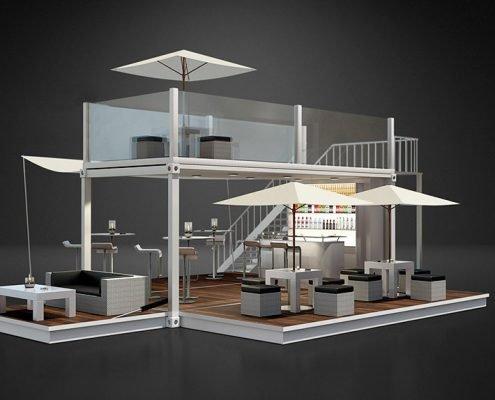 Produktvisualisierung für Contain:U 3D-Rendering