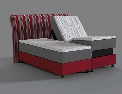 Produktvisualisierung für einen namhaften Bettenhersteller