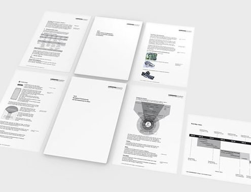 Das CliqLoc Konzept in gedruckter Form