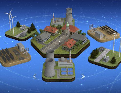 Screenshot aus dem Visualizer des E3-Projektes des Tüv Rheinland