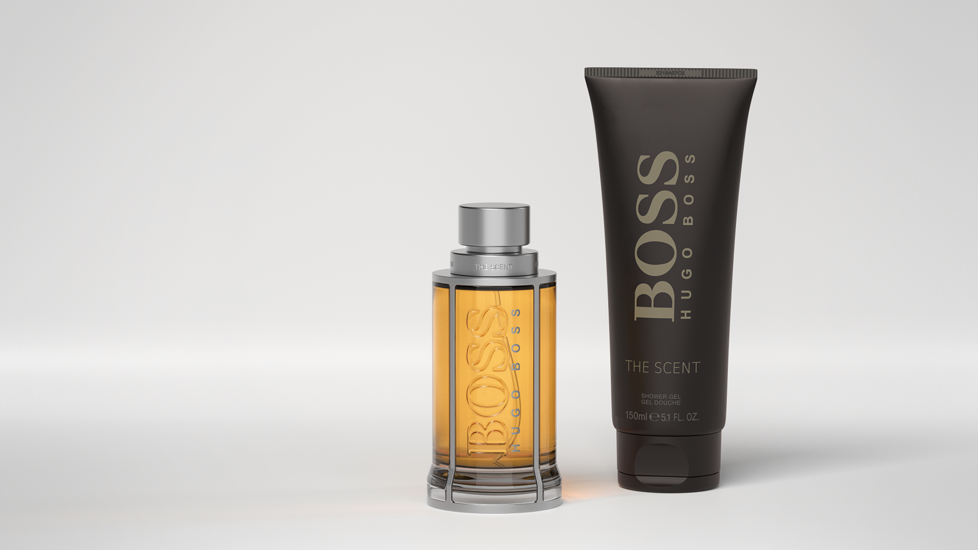 Hugo Boss The Scent Materialstudie