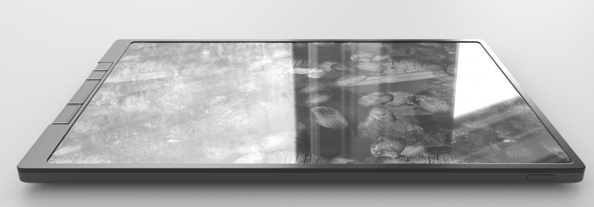 Touch – Tablet mit Fingerprints